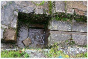 Machu Picchu water fountain