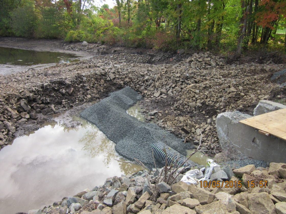 Challenge aging dam requires significant upgrades tata for Pond dam design