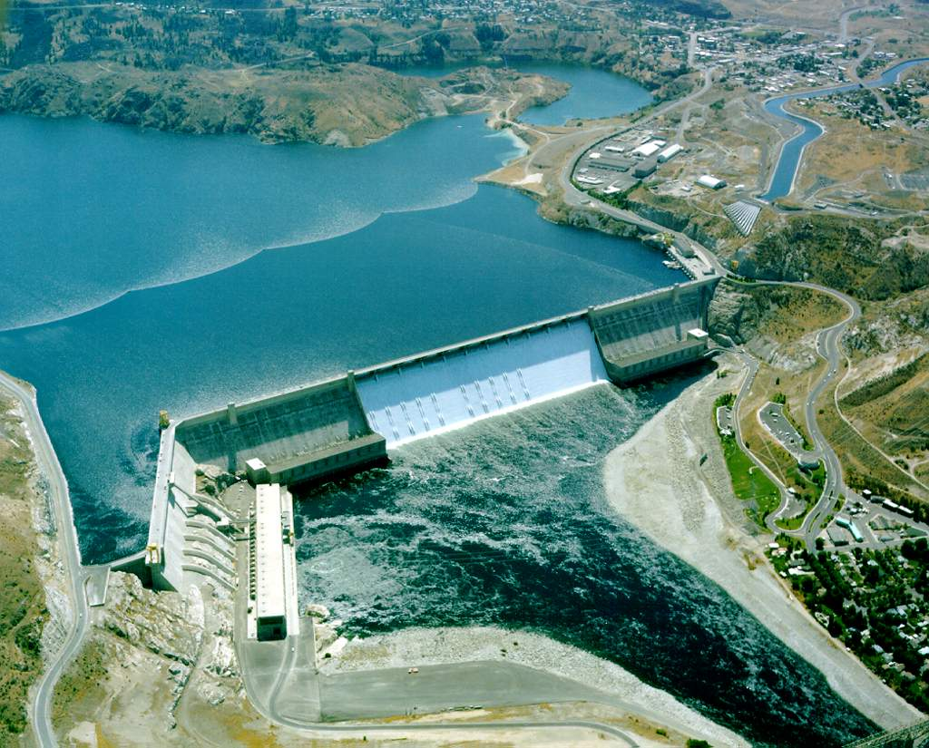 Grand Coulee Dam, Lake Franklin