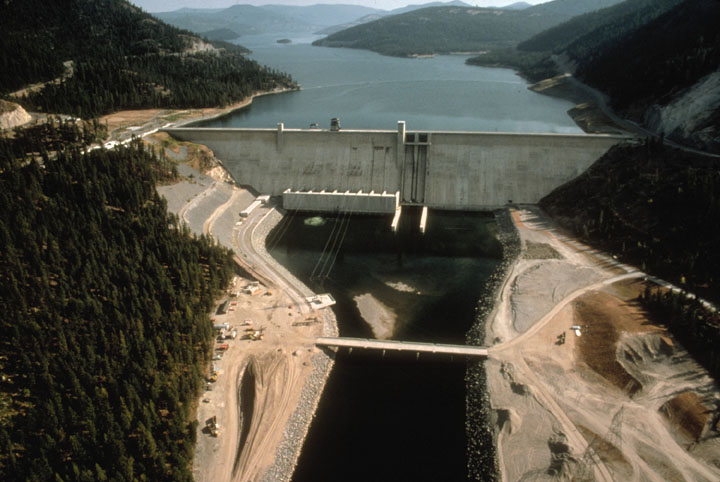 Libby Dam, Lake Koocanusa