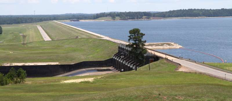Sabine River Authority State of Louisiana – Observation Area near Toledo Bend Dam