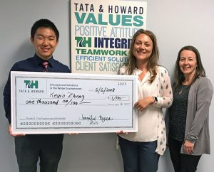 Donald J. Tata Scholarship Winner