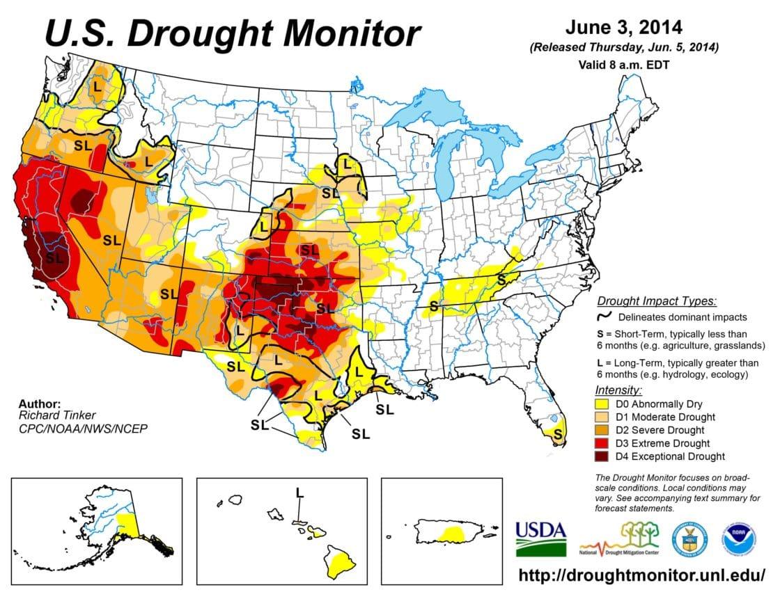 drought monitor Archives - Tata & Howard