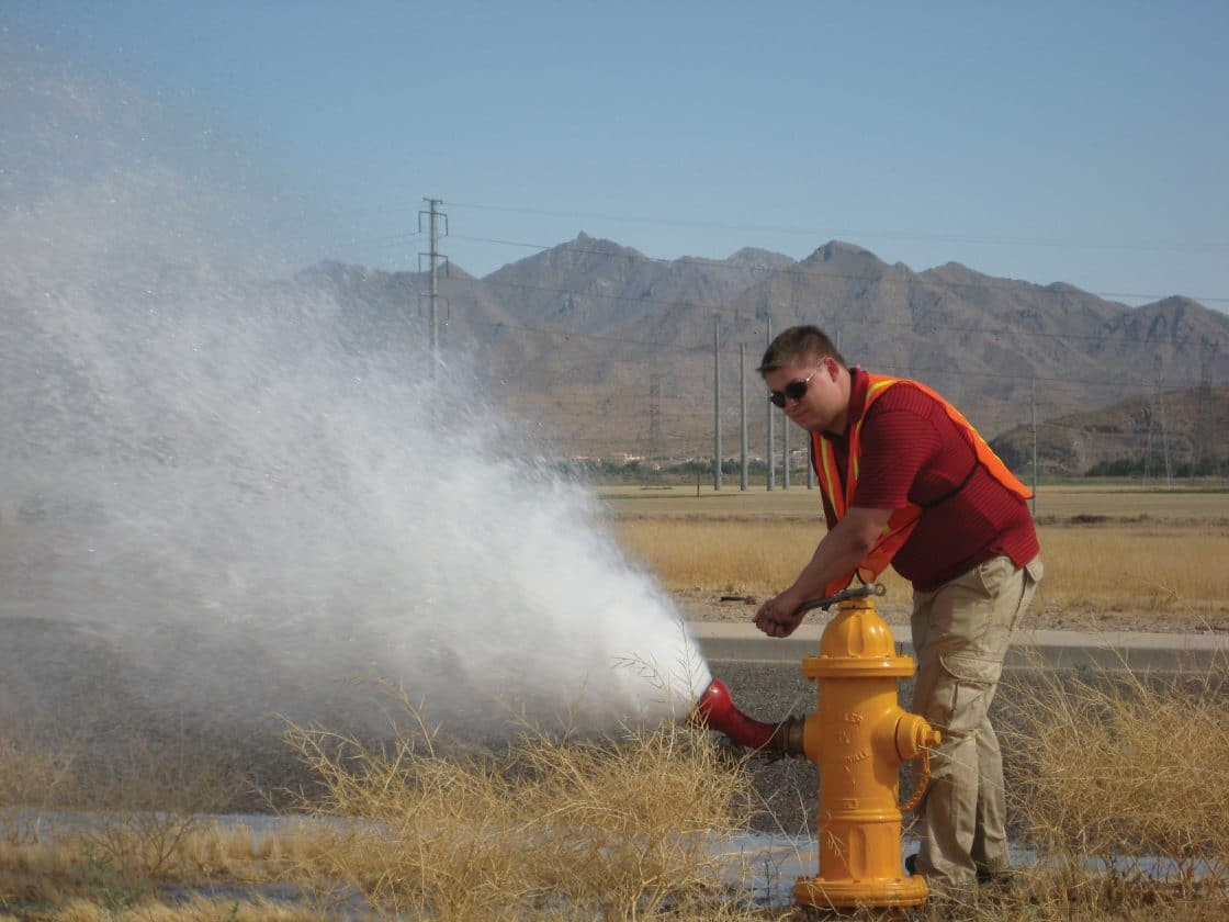 hydrant-flushing