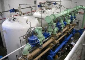 Canton MA water treatment facility