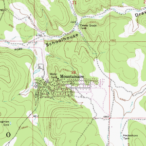 Mountainaire map