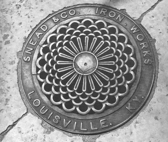 Louisville Kentucky manhole cover