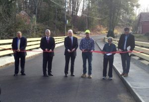 A ribbon cutting ceremony was held December 10, 2015