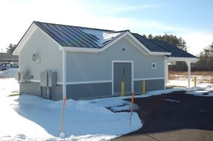 MaineWaterCo Barra Road PS building ext