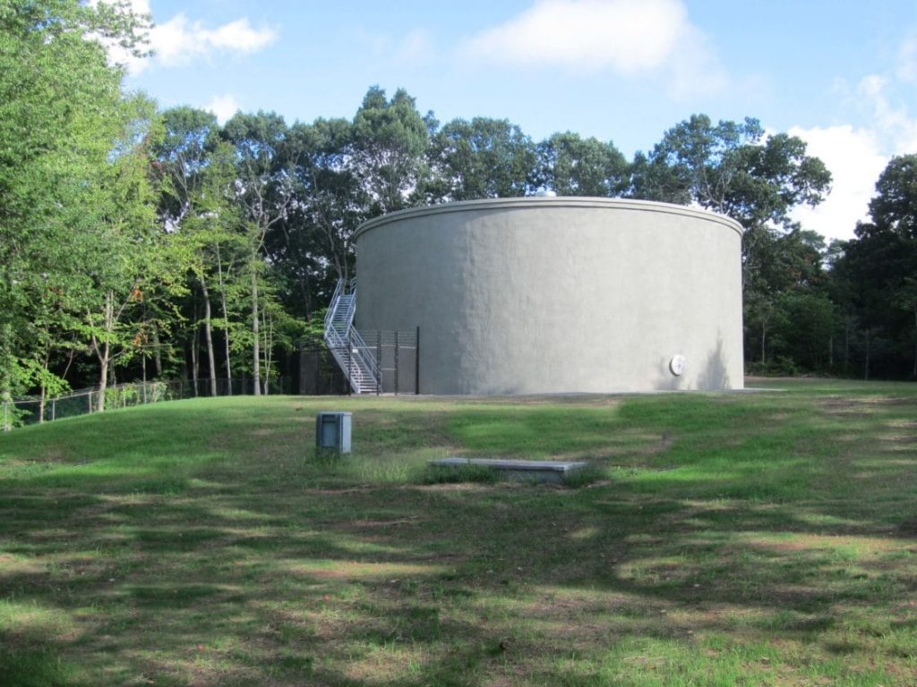 Storage Tank Demolition : Water storage tank replacement hamden ct tata howard