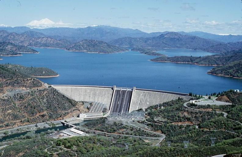 Shasta Dam, Lake Shasta