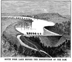 Before the dam breach